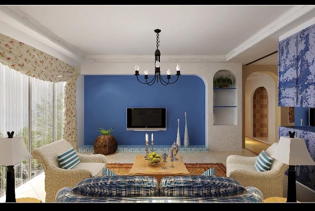 西班牙蔚蓝色的海岸与白色沙滩,希腊的白色村庄在碧海蓝天下简直