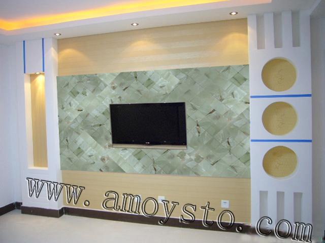 石拓玉石马赛克电视机背景墙的重要性