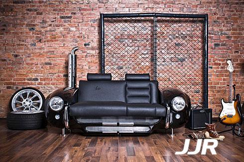 用福特中古汽车打造的创意家具,超小资高清图片