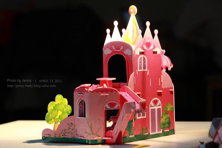 公主城堡 手工制作
