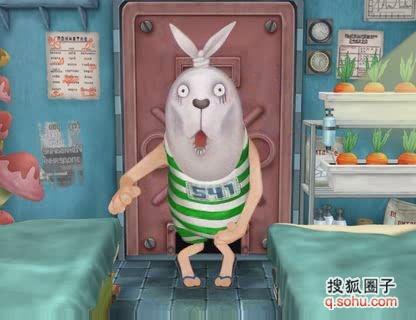 越狱兔微信表情分享展示图片图片