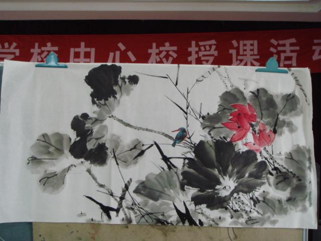 中秋节的水粉画-我的中秋节
