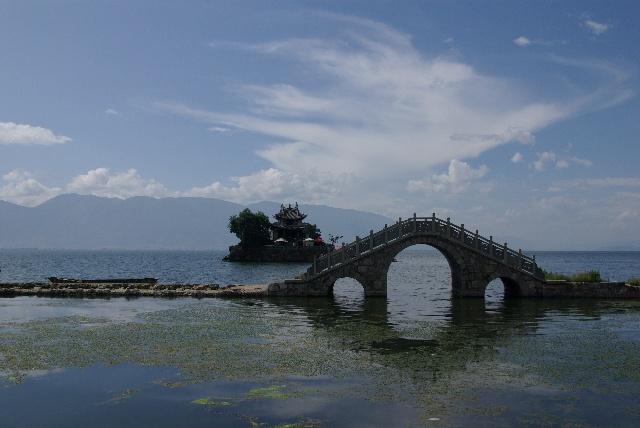 风景图片大全洱海舒服