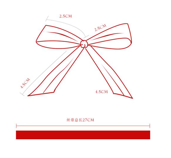 08冬季新款红丝带的标准系法