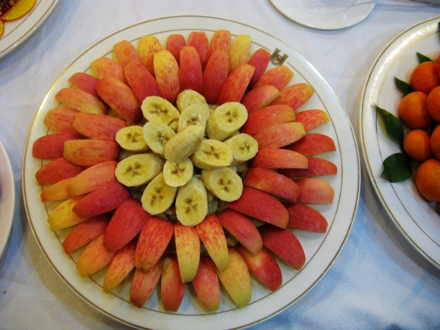 水果拼盘 -点评成都田园素食餐厅 自助餐