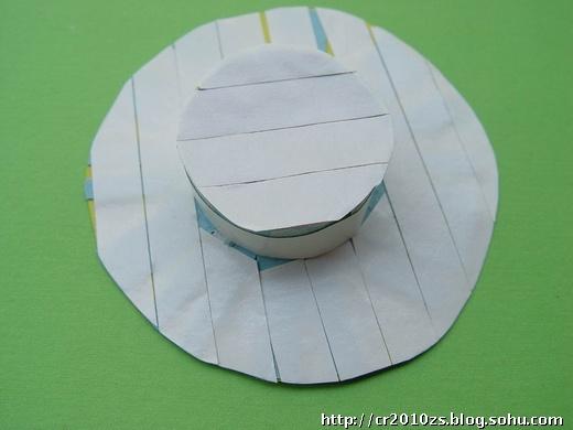 海绵纸手工制作帽子