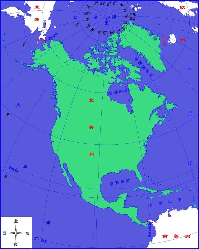 地理位置以及美国人的霸权经营