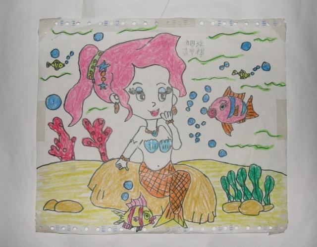孩子们眼中的海底世界