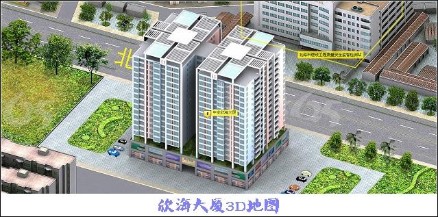 楼房俯视设计图