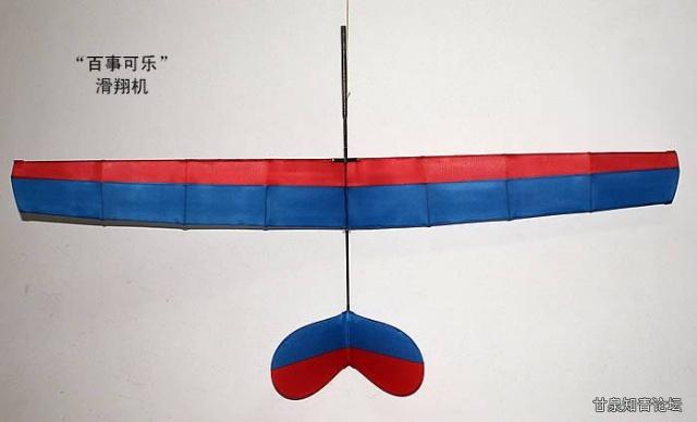 我的风筝作品-老张的飞机风筝