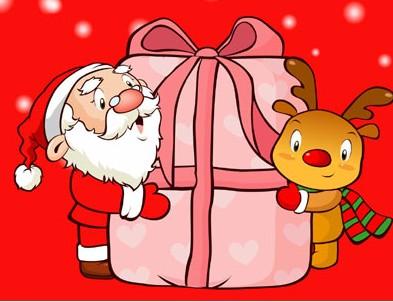 """""""小精灵说:""""今天是圣诞节啊!"""
