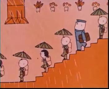 中国美术片简介——(十六):没头脑和不高兴~!图片