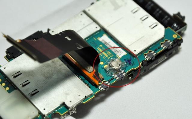 c905换壳换内置纽扣电池,修键盘成功,故障解决.
