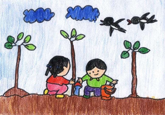 幼儿园五一劳动节主题画布置_第3页_画画大全