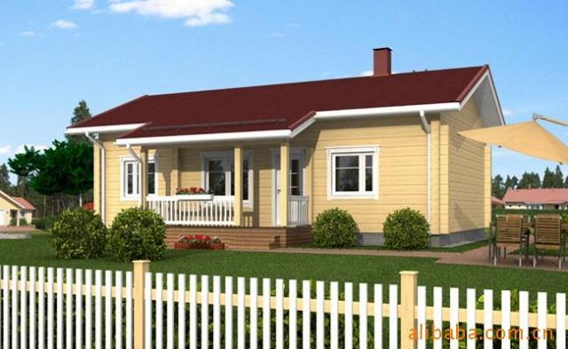 木结构房屋 特点及优势