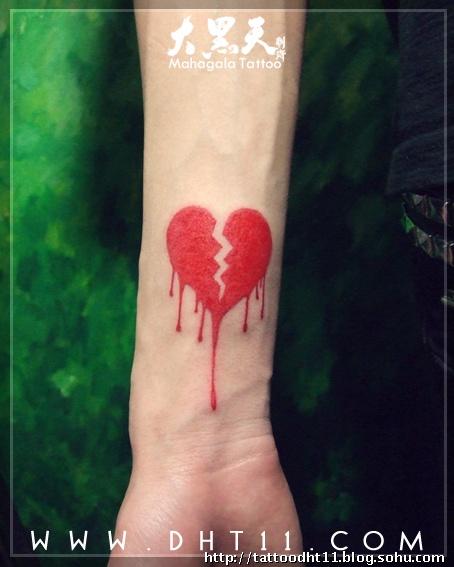 火苗改的纹身图案分享展示