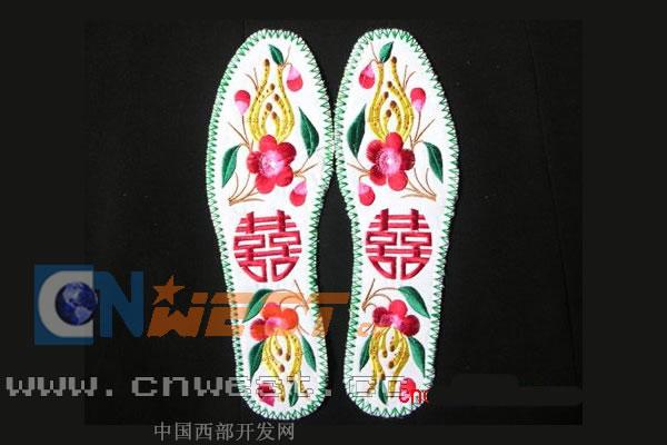十字绣鞋垫图案