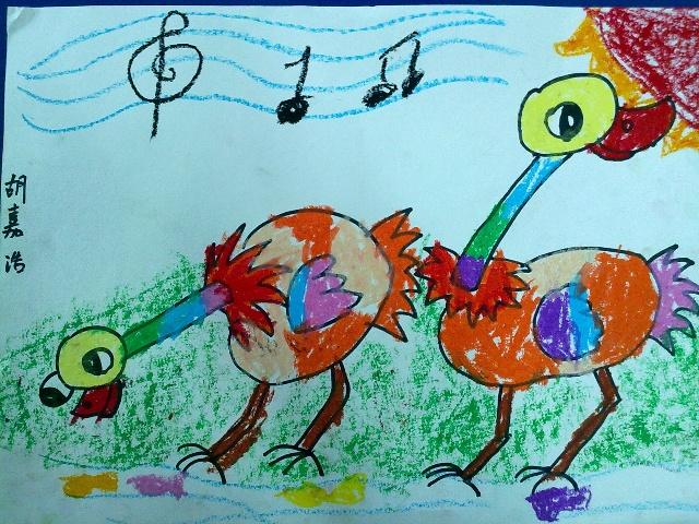 12月份青少年宫画画作品 -六六我们家的小可爱-搜狐