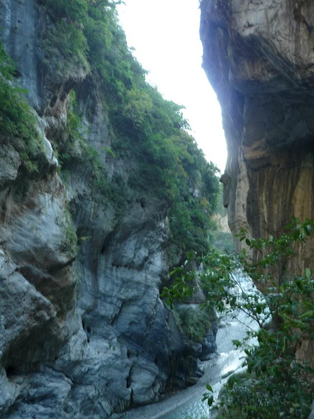 游玩台湾花莲的太鲁阁峡谷风景区