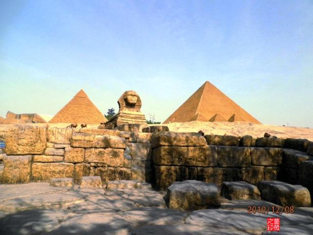 """""""世界之窗""""拍照之十二:埃及""""金字塔"""""""