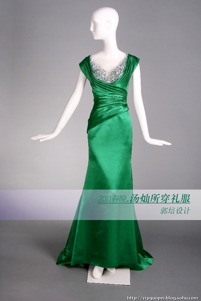 郭培2011春晚服装设计