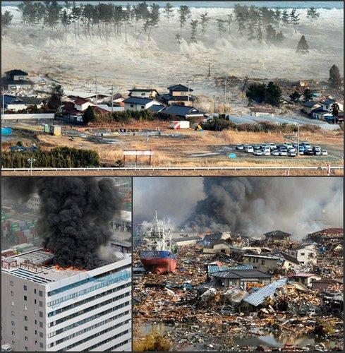 你们─为日本 云南地震受难者祈福图片