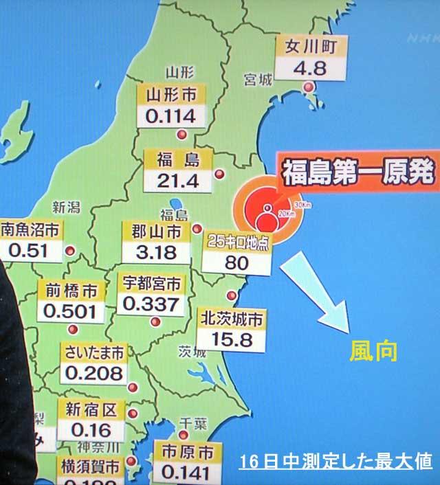 福岛事故核电站的地理位置,核辐射对人体的影响以及公开的最新核辐射