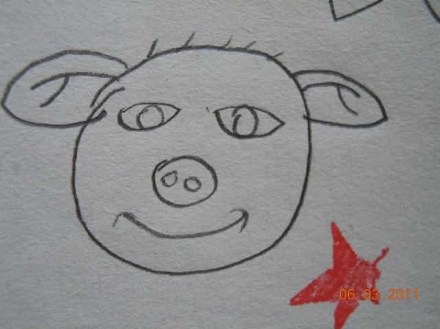 儿童画树藤简笔画