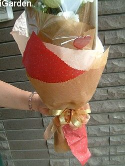 单枝玫瑰花束包装方法——如何包扎玫瑰鲜花