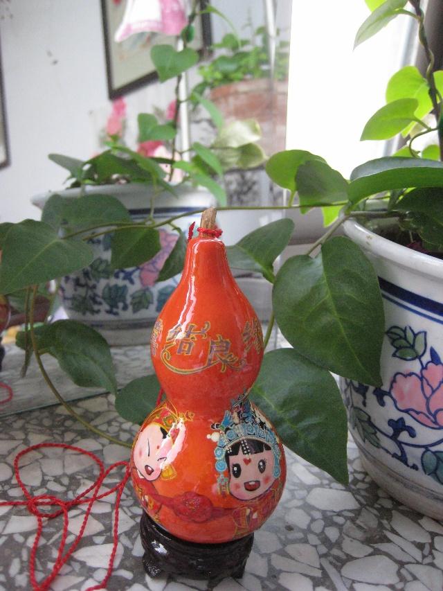 盆栽葫芦钩织方法图解