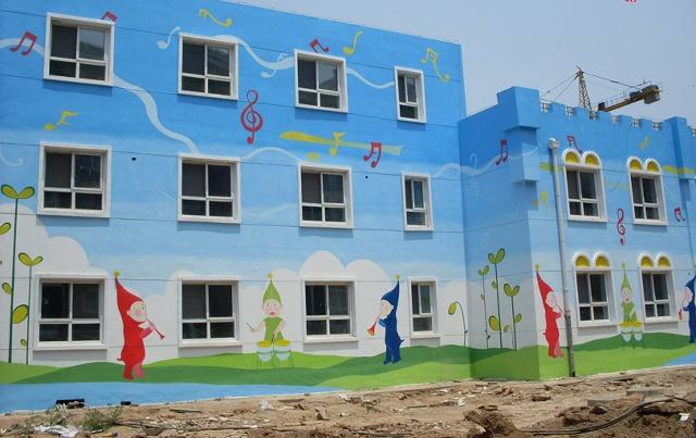 合肥墙体彩绘合肥幼儿园彩绘合肥学校彩绘合肥敬老院.