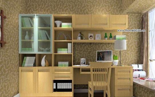 2010年到2011年最新流行大书房装修效果图参考 大书房色彩