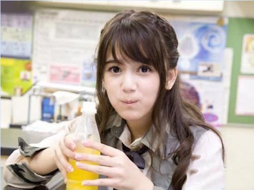 组图:日本最萌的混血美少女