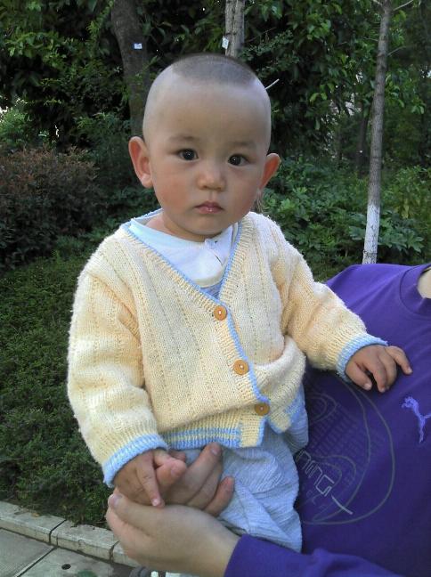 适合7个月女宝宝的发型图片